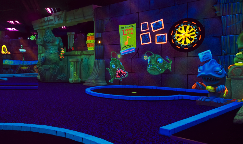 TONY'S MYSTERY GOLF <strong>| Mystery and excitement in an underwater minigolf adventure</strong>