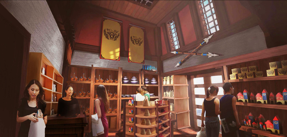 WANDA HEFEI SHOPS <strong>| Themed merchandise shops for all park zones</strong>