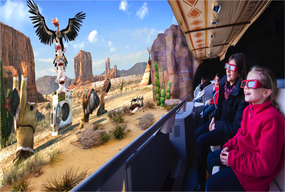 "STAR AWARD 2014<strong>Meilleur Dark Rides d'Europe, ""Les Lapins Crétins"" Dark Ride, Futuroscope, France</strong>"