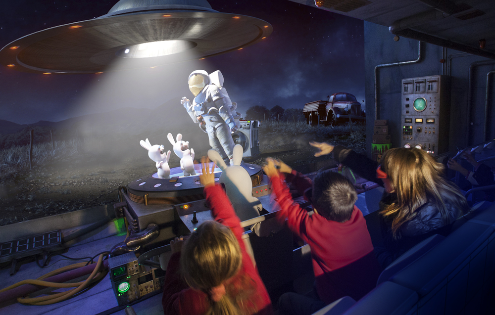 "STAR AWARD 2014<strong>Europe's Best Dark Rides, ""The Time Machine"" Dark Ride, Futuroscope, France</strong>"