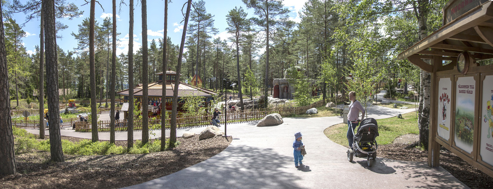 WORLD OF BAMSE <strong>| Expansive themed zone based on a well-known Swedish IP</strong>