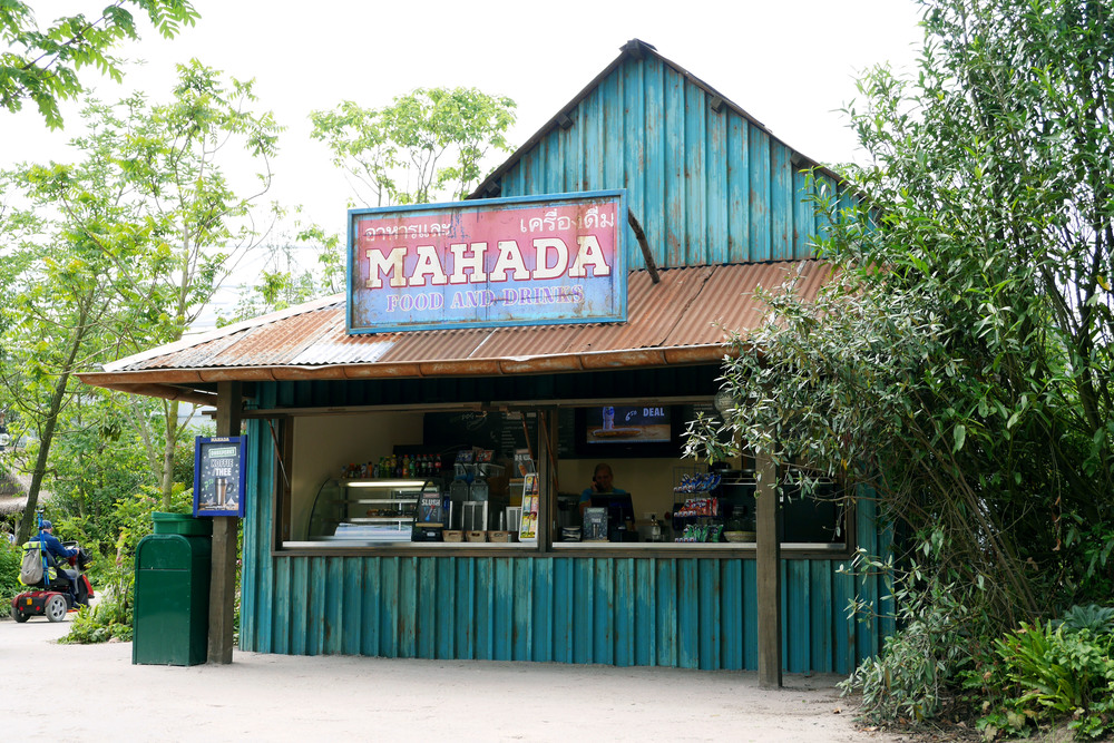 MAHADA KIOSK WILDLANDS <strong>| This small, weathered jungle outpost welcomes weary travelers and explorers</strong>