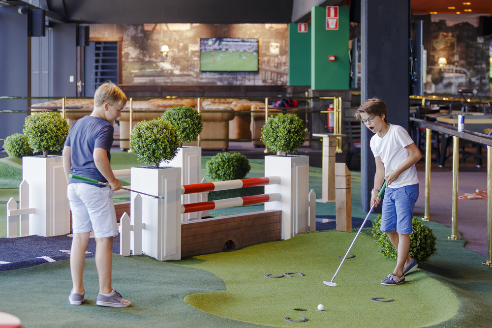 O'LEARY'S GHENT MINI GOLF <strong>| Sports-themed mini golf experience</strong>
