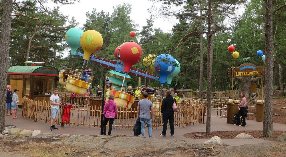 Skalmans Luftballonger, Bamses Värld, 2016