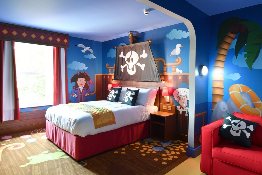CBEEBIES LAND HOTEL ALTON TOWERS <strong>| Unique IP themed hotel for long families</strong>