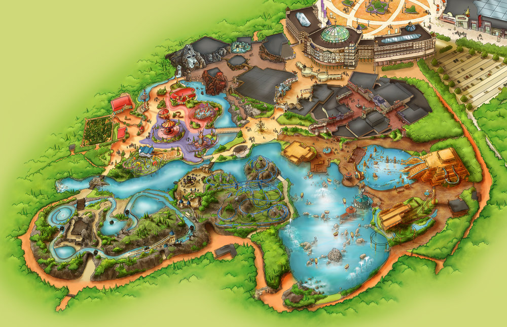 ADVENTURE WORLD WARSAW <strong>| A complete design for Poland's first world-class theme park</strong>