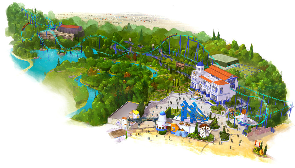 PÉGASE EXPRESS PARC ASTERIX <strong>| Take a journey on the express train of ancient Greece</strong>