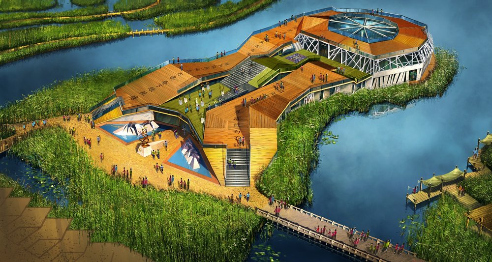 ART & SCIENCE MUSEUM <strong>| Concept and architectural design for an art and science museum in Hangzhou Bay</strong>