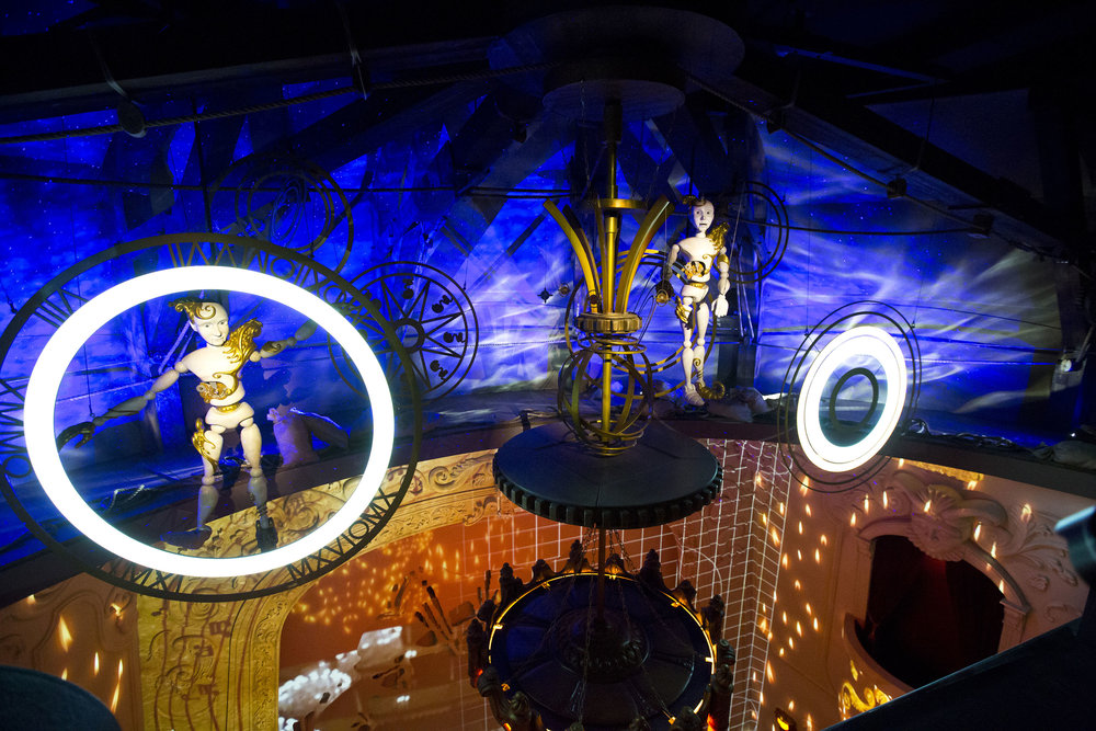 GRÉVIN WAX MUSEUM <strong>| Manufacturing and installation of elaborate show sets</strong>