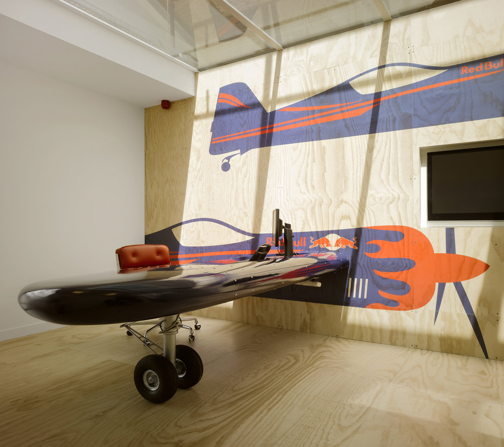 RED BULL AMSTERDAM <strong>| Production of an innovative office space</strong>