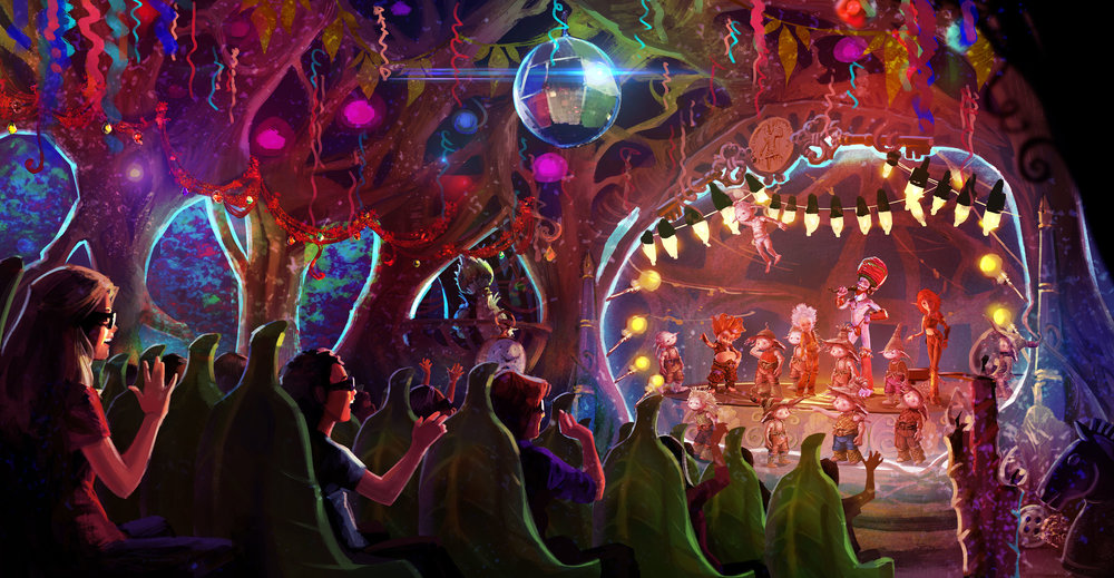"ARTHUR ROYAL 4D THEATER <strong>| Design for a 4D theater attraction based on ""Arthur and the Minimoys""</strong>"