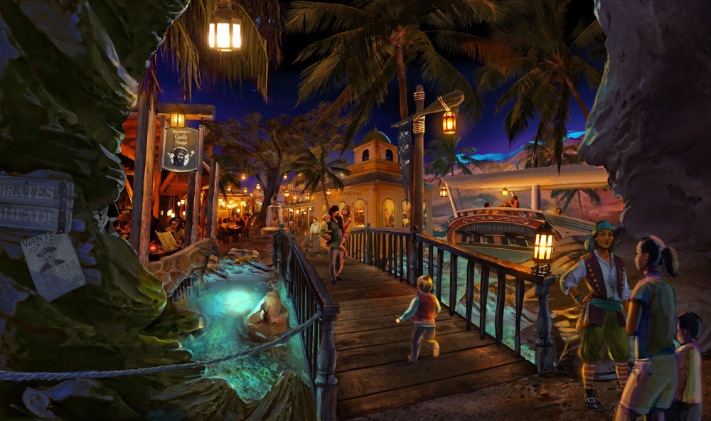 LA PLANCHA DEL BUCANERO <strong>| This hideaway pirate village offers a buffet of hearty fares in lush tropical surroundings</strong>