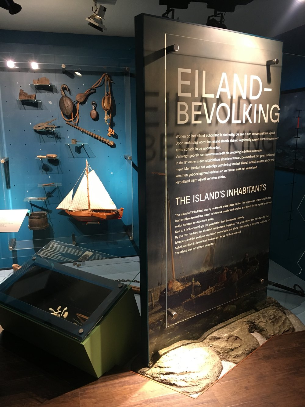 SCHOKLAND MUSEUM <strong>| An exhibition about a former Dutch island</strong>