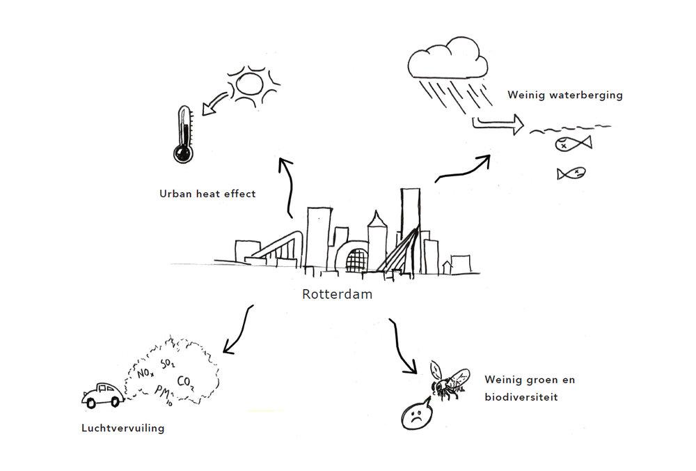 Milieuproblemen in de stad