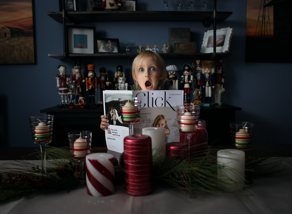 05 click magazine child girl dining table christmas decorations clickin moms bounced flash yongnuo black foamie thing westcott ice light lifestyle edmond ok photographer oklahoma city