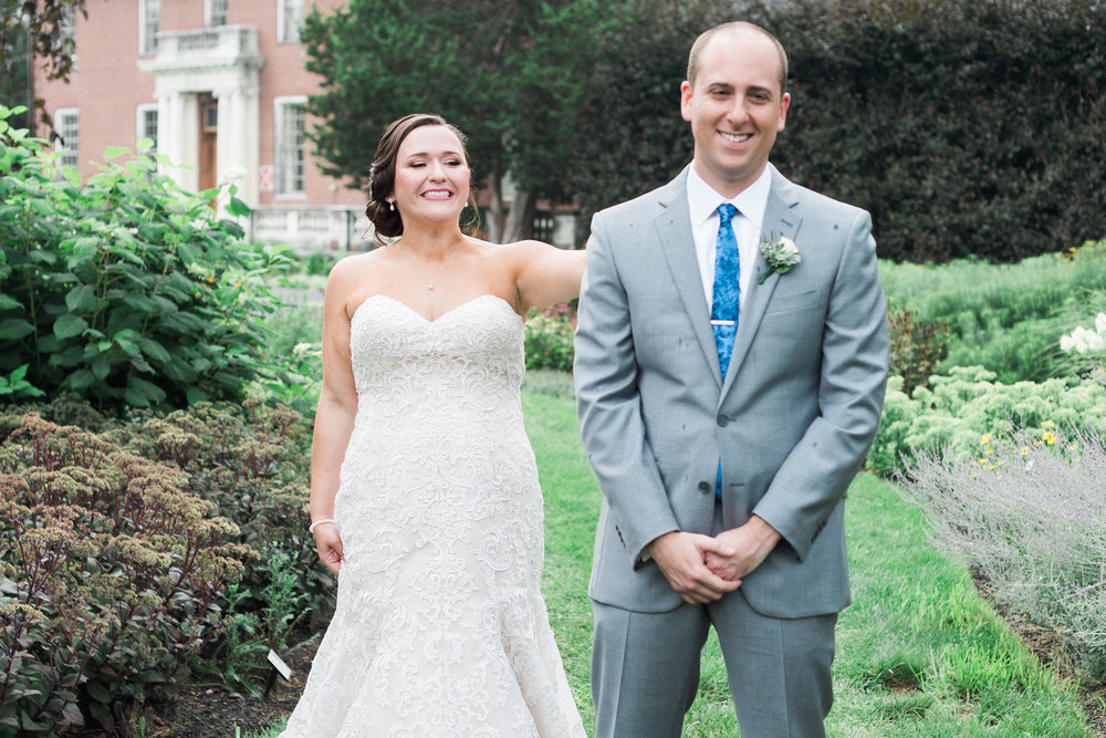 Click over to see more from this summer, garden wedding in Wellesley.