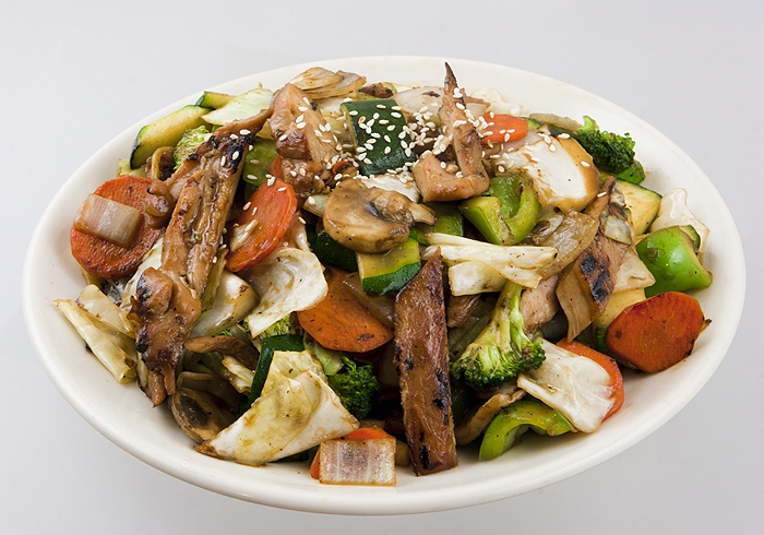 Stir Fry Vegetables w/ Chicken