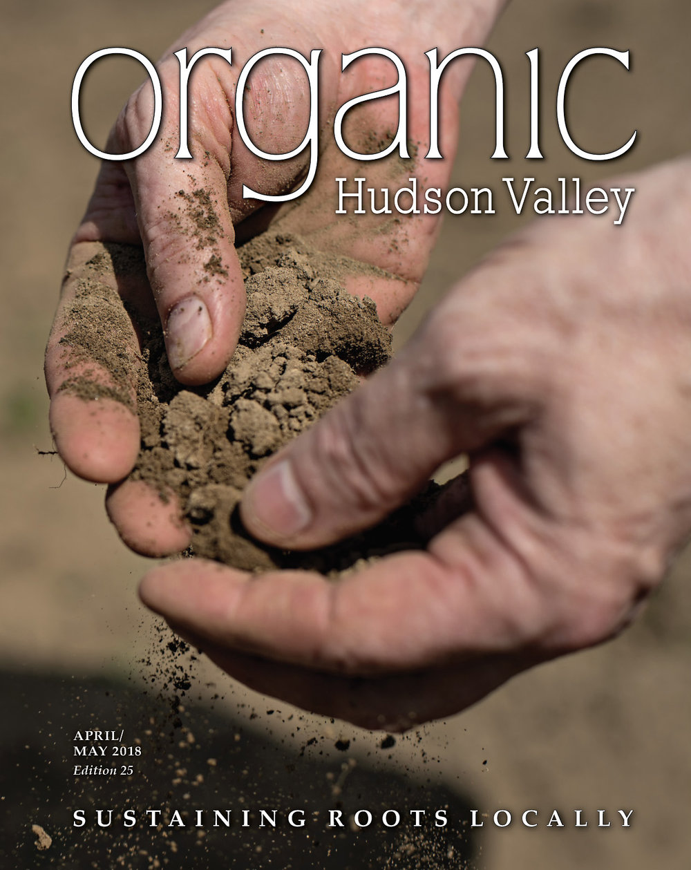 Organic Hudson Valley April-May Cover Photo