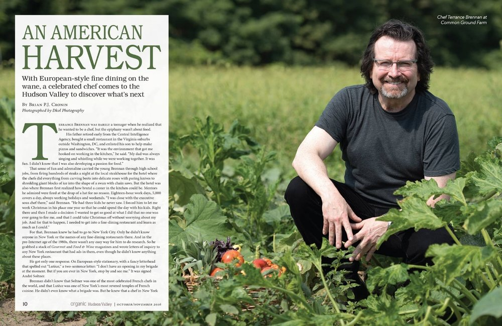 Organic Hudson Valley Featured Article