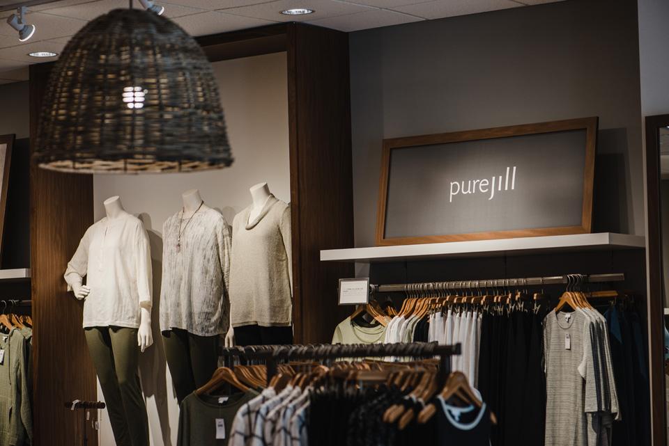 interior shot of J.Jill Store