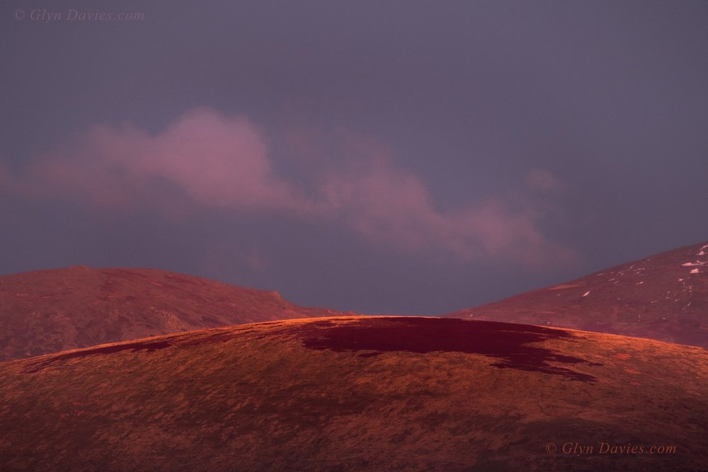 """Appealing Colour"" - Sunset over Moel Wnion, Snowdonia, Wales - Fujifilm X-Pro2"