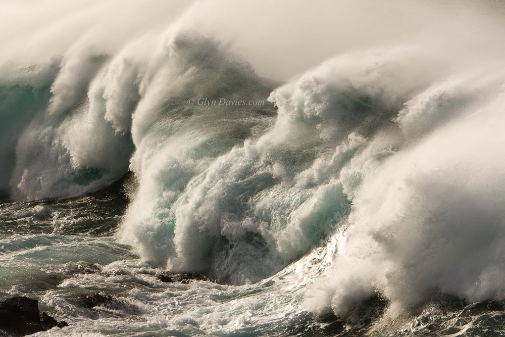 """To Be As Free As White Horses"" - Huge Atlantic waves, West Cornwall - Canon 1DSmk3"