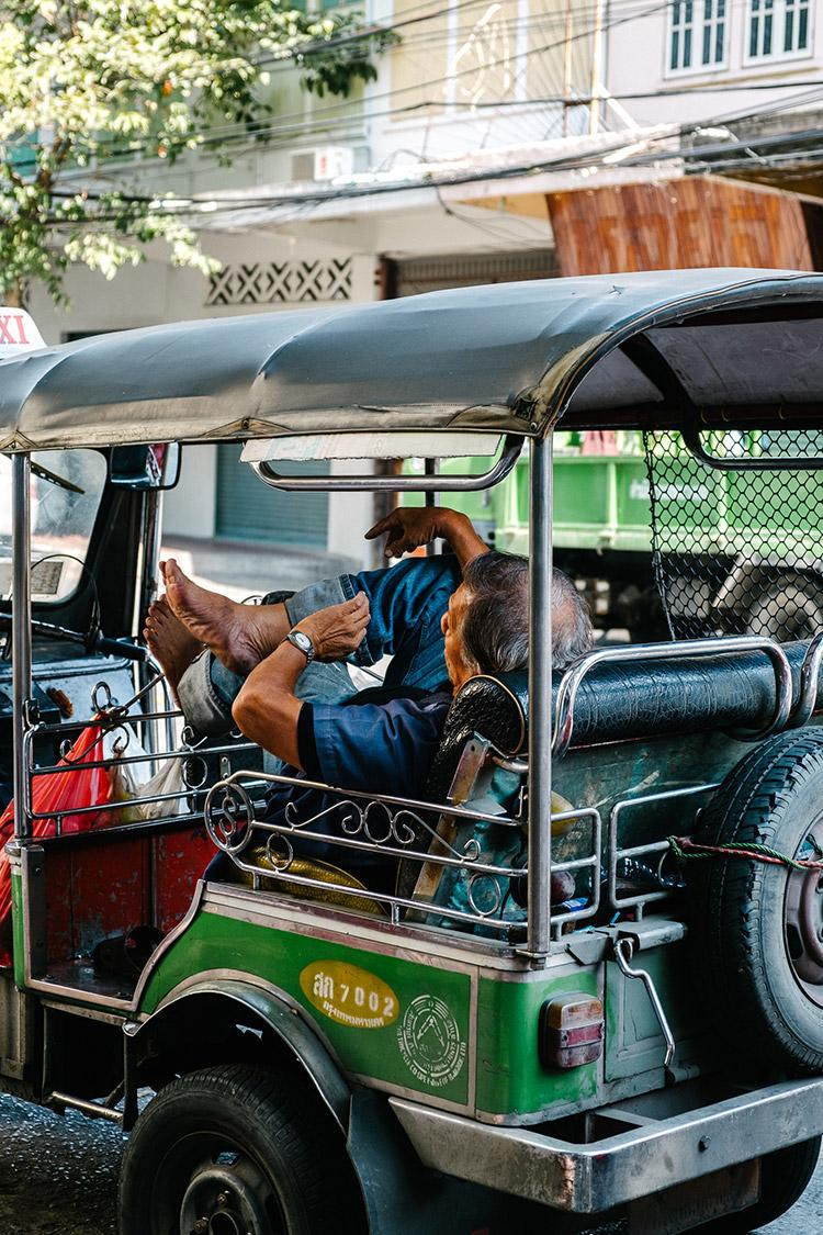 Streets of Bangkok, Thailand.
