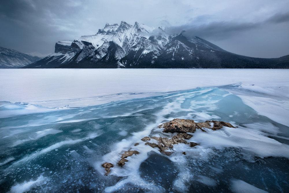 Ice age, Canada.
