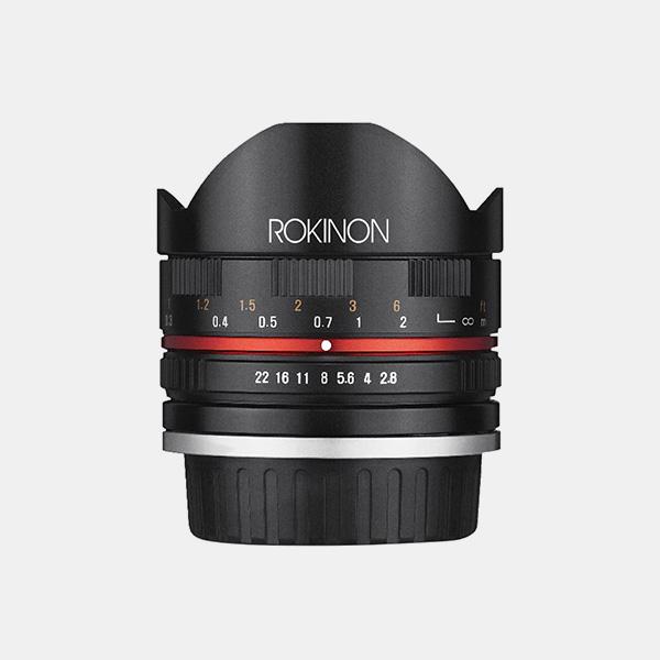 Samyang/Rokinon 8mm F2.8 Fisheye II