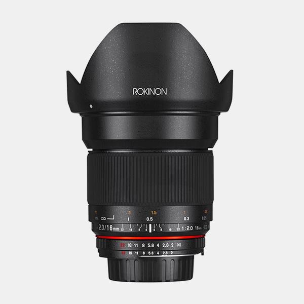 Samyang/Rokinon 16mm F2