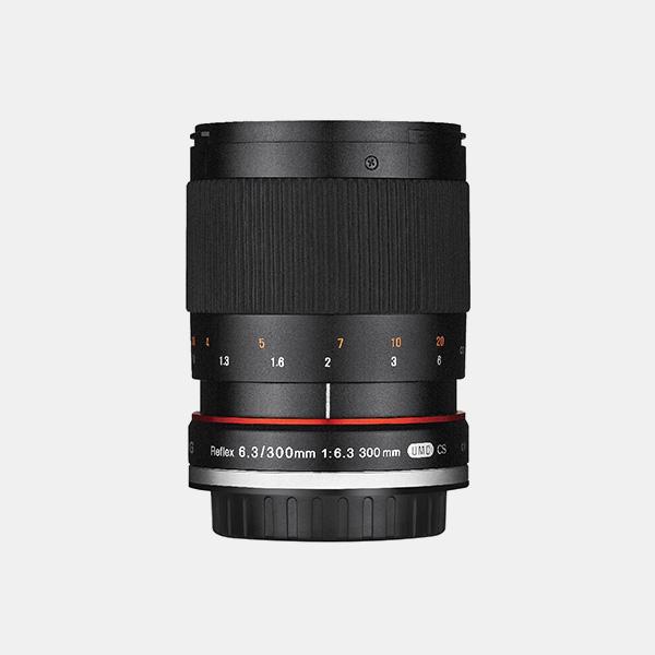 Samyang/Rokinon 300mm F6.3 mirror lens