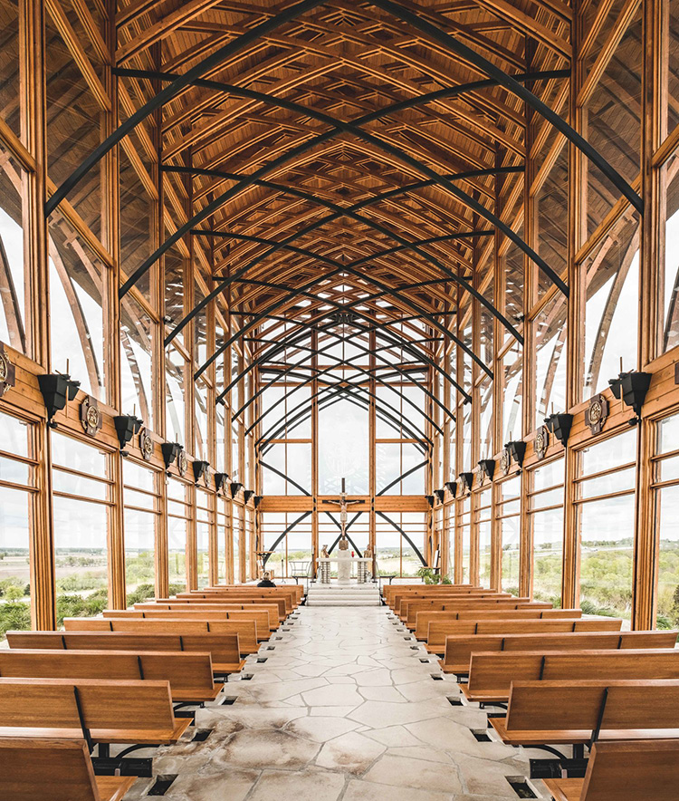 The Holy Family Shrine in Gretna, NE.