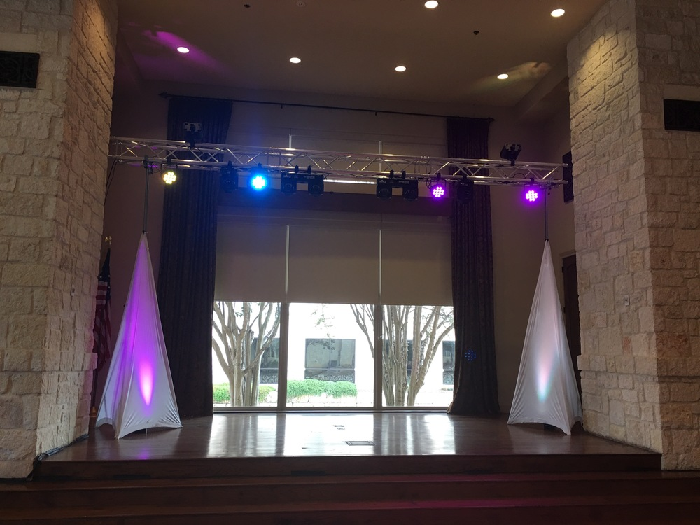 50th Anniversary Event Lighting