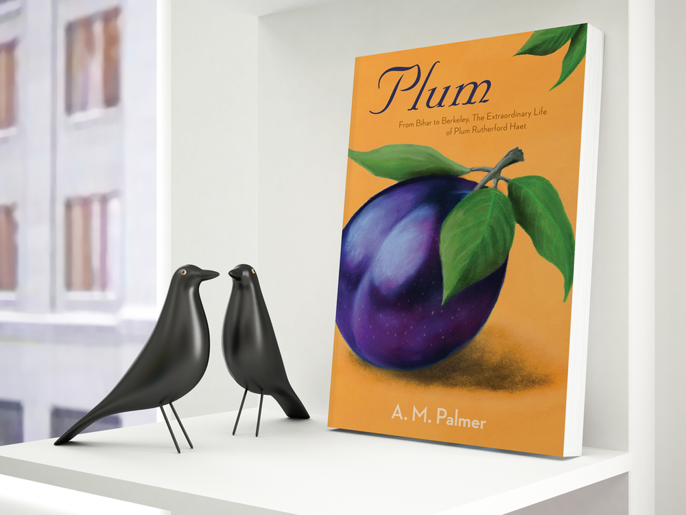 """Plum"" book design"