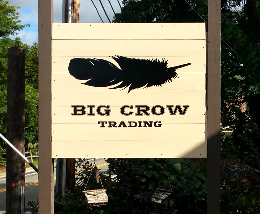 Simple, striking graphics at Big Crow