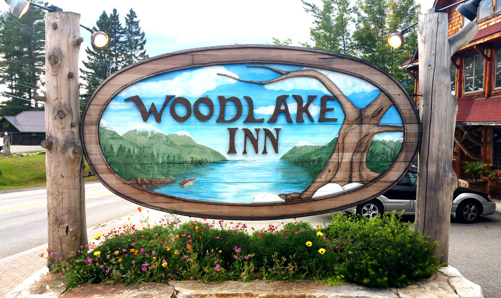 At the Woodlake Inn, Lake Placid