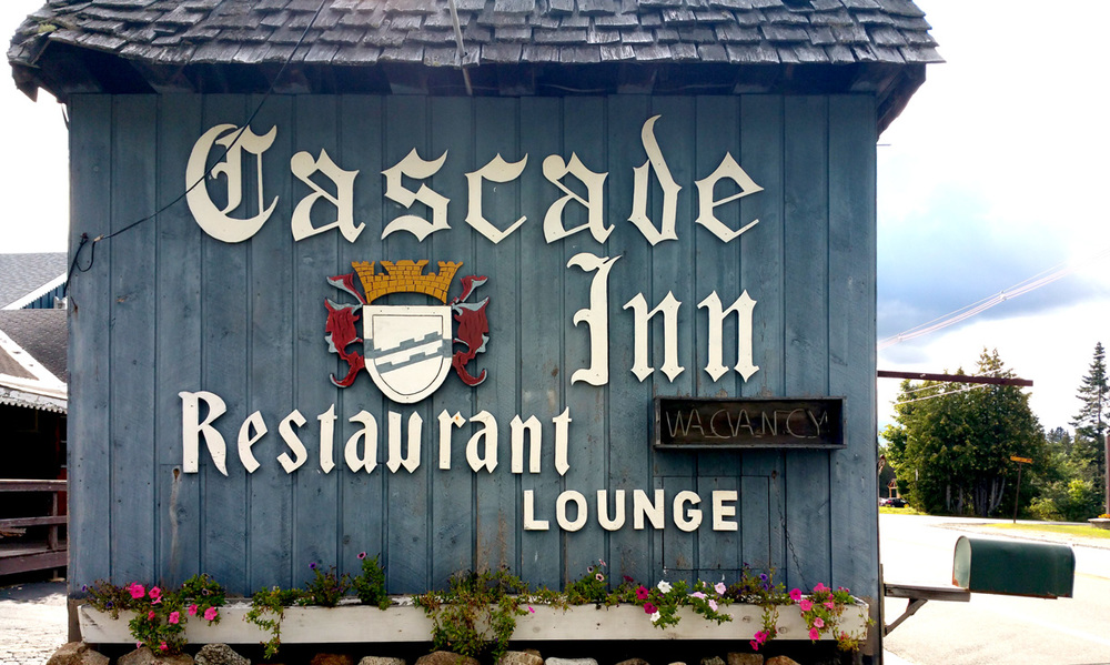 The Cascade Inn (named for Cascade Mountain, the one-and-only Adirondack High Peak I have climbed).