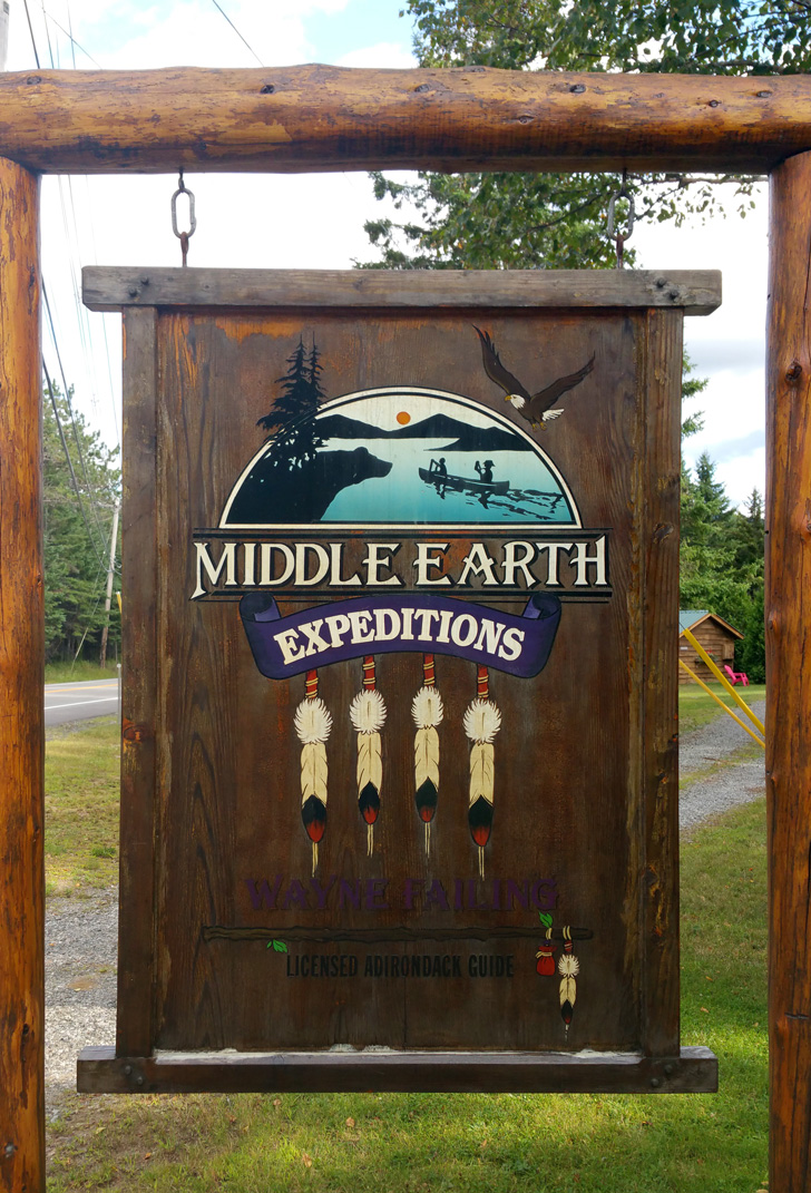 Middle Earth Expeditions by Wayne Failing, Licensed Adirondack Guide