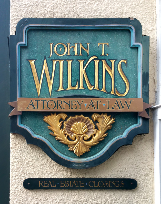 John T. Wilkins, attorney. This guy is undoubtedly a snappy dresser.
