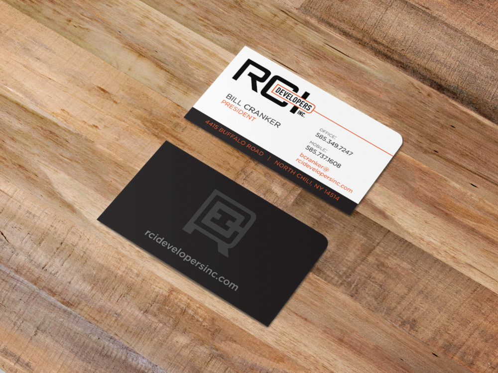 RCI Developers business cards