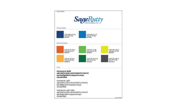 Sage Rutty Brand Guidelines