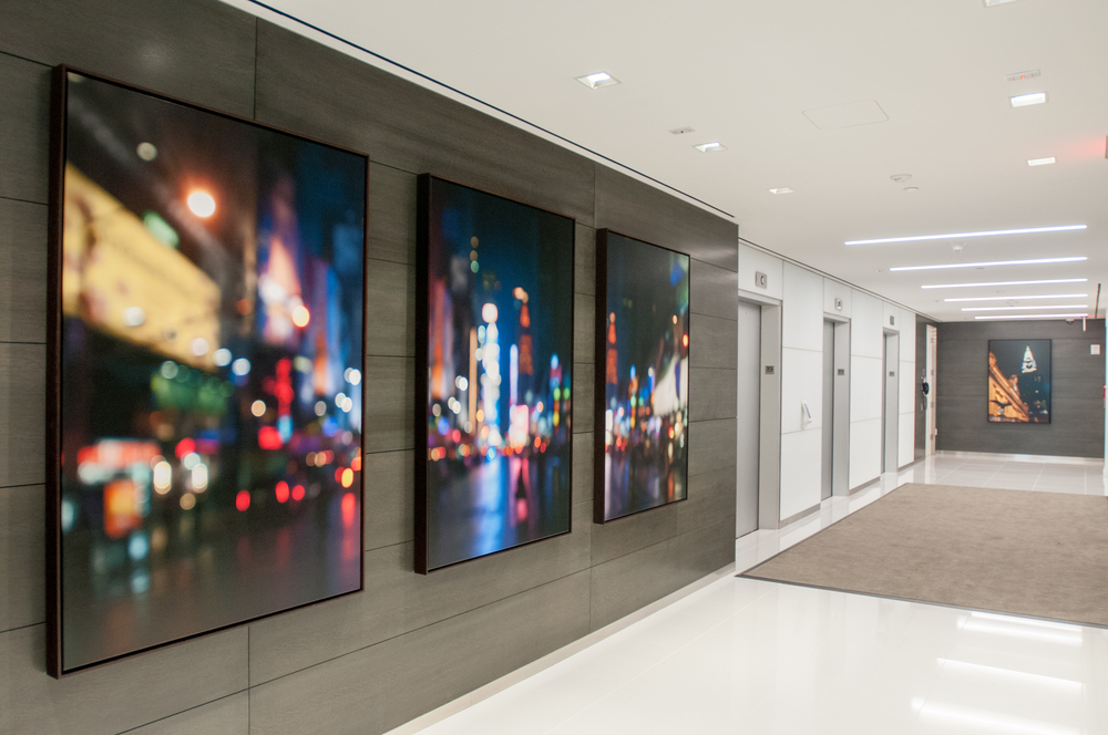Park Ave, NYC Offices - Artwork by John Duckworth