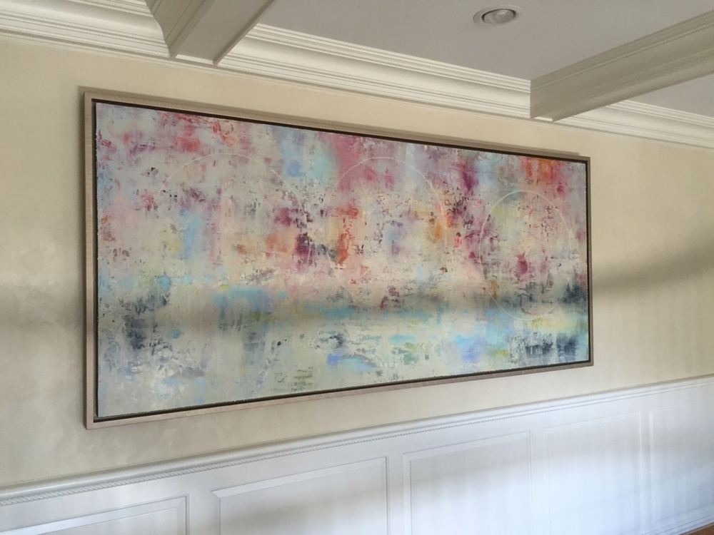 Purchase, NY - Commissioned Artwork by Andrea Bonfils