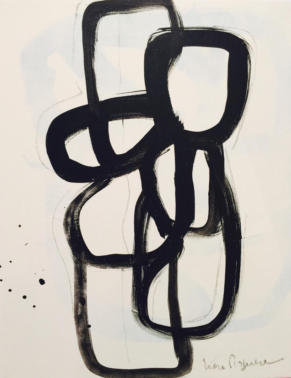 Black and White No. 101 25 x19