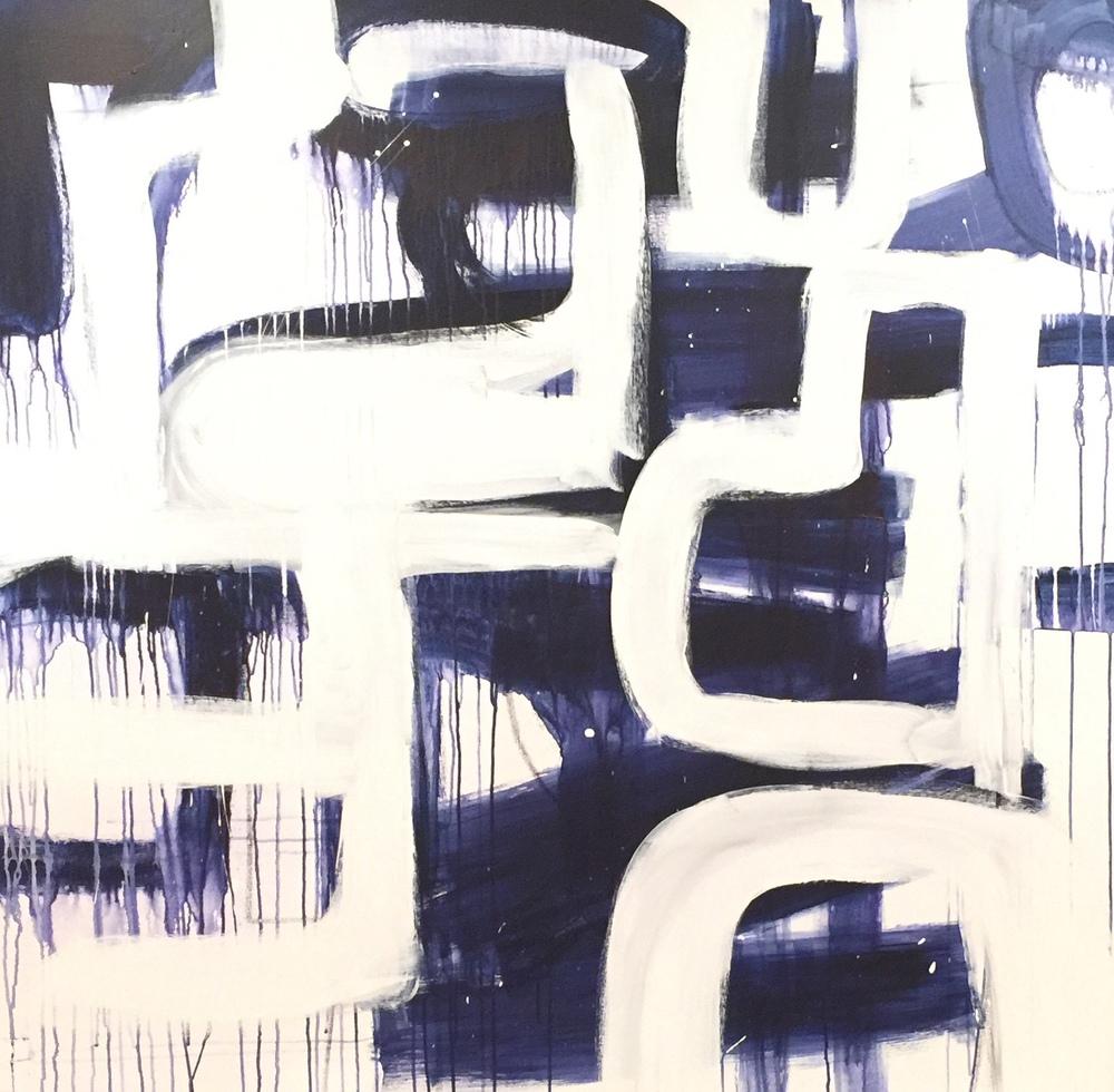My Blue Maze 60 x 60