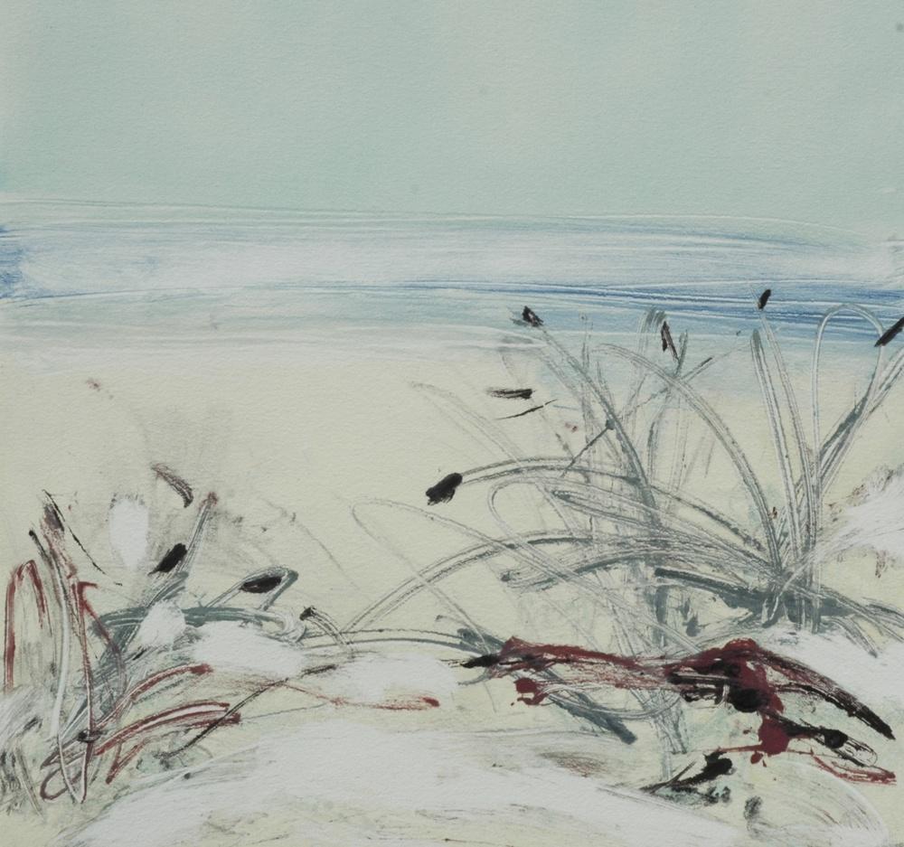 Beach Scape No. 922 12 x 12