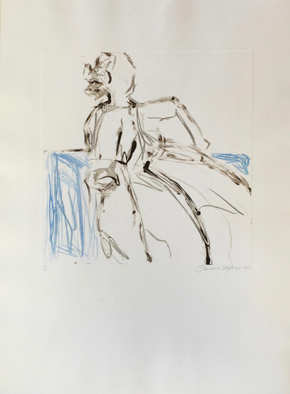 Figure Study No. 10 15 x 15