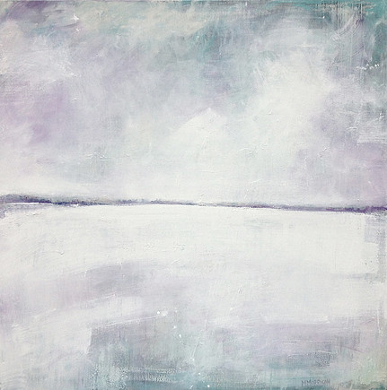 Lake in Winter  48 x 48