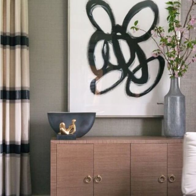 Artwork by Kerri Rosenthal, Interiors by Susan Glick Interiors