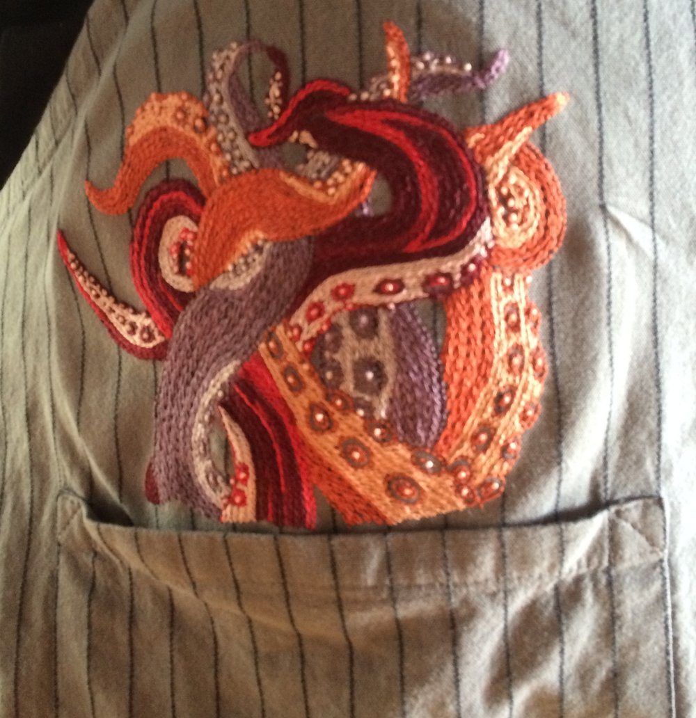 Brents magic Octopus apron